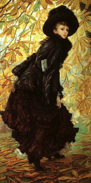 October by James Tissot